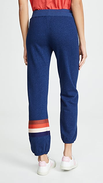 SUNDRY Multi Stripe Basic Sweatpants