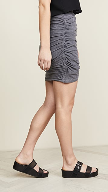 SUNDRY Crossover Skirt