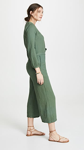 SUNDRY Belted Jumpsuit