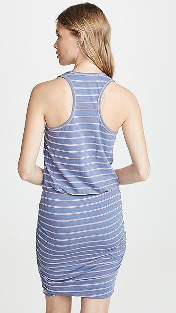 SUNDRY Striped Sleeveless Dress