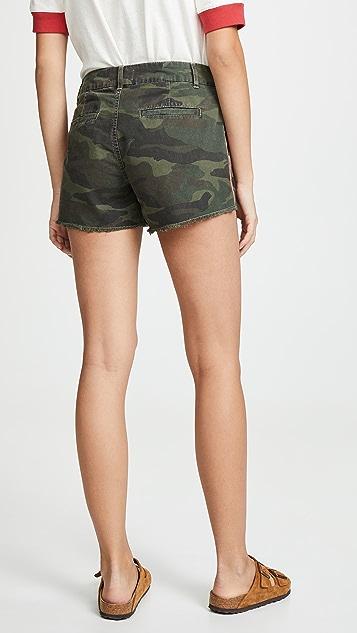 SUNDRY Camo Trouser Shorts