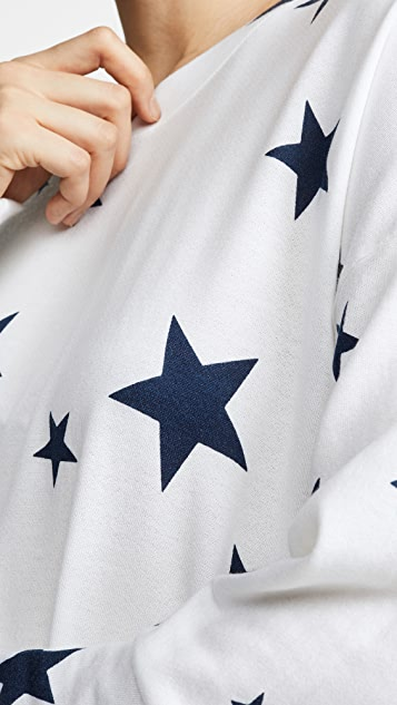 SUNDRY 星星圆领运动衫