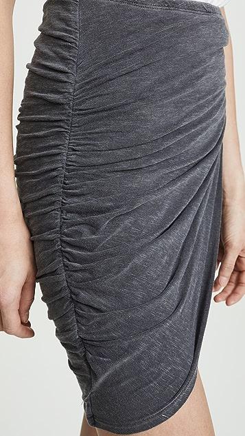 SUNDRY 交叠半身裙