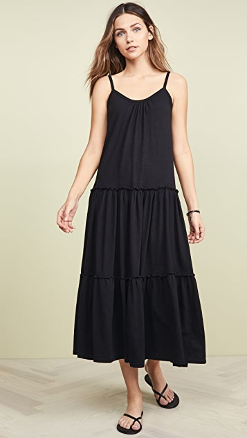 SUNDRY Tiered Maxi Dress