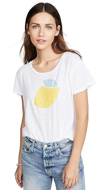 SUNDRY Винтажная футболка Lemon