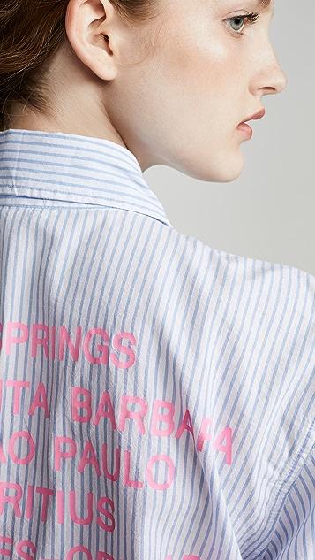 SUNDRY Destinations Stripe Shirt