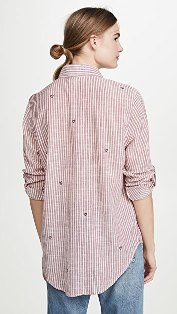 SUNDRY Oversized Button Down