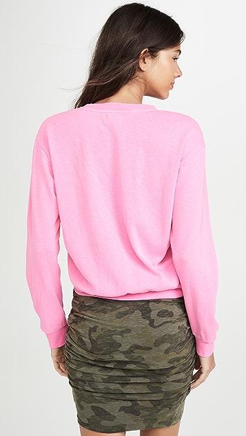 SUNDRY Crop Sweatshirt