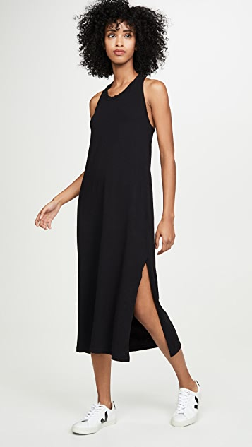 SUNDRY Twist Back Dress