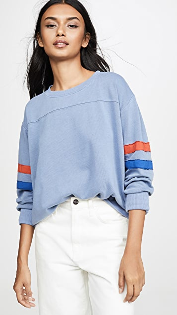 SUNDRY Пуловер с кокеткой