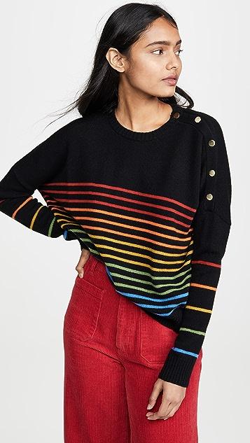 SUNDRY Button Sweater