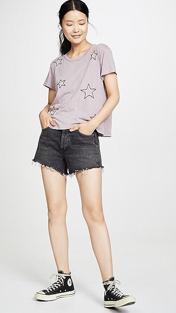 SUNDRY 星星复古 T 恤