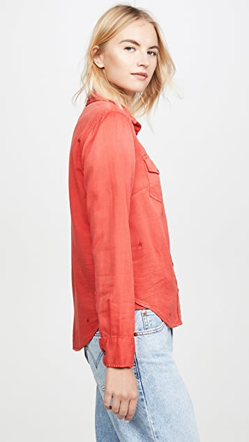 SUNDRY Classic Button Up