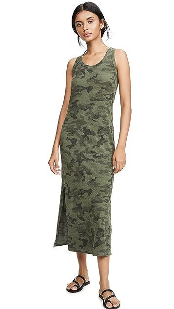 SUNDRY Camo Tank Dress