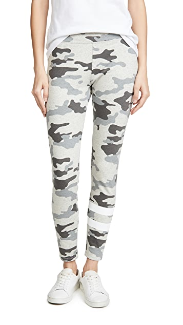 SUNDRY Camo Yoga Pants