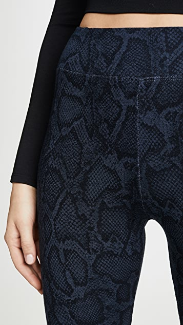 SUNDRY 蟒蛇纹瑜伽裤