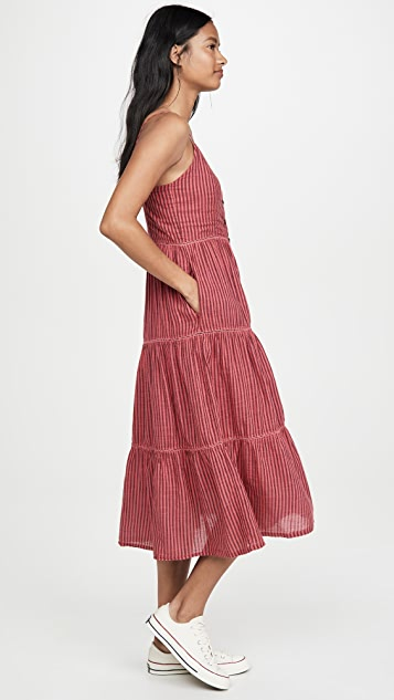 SUNDRY 层褶背心裙