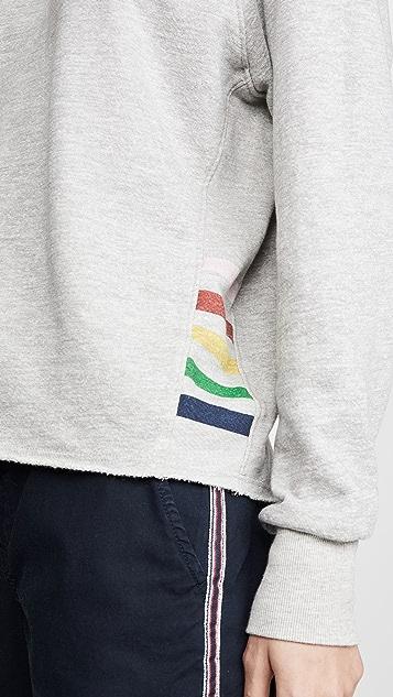 SUNDRY Cutoff Sweatshirt
