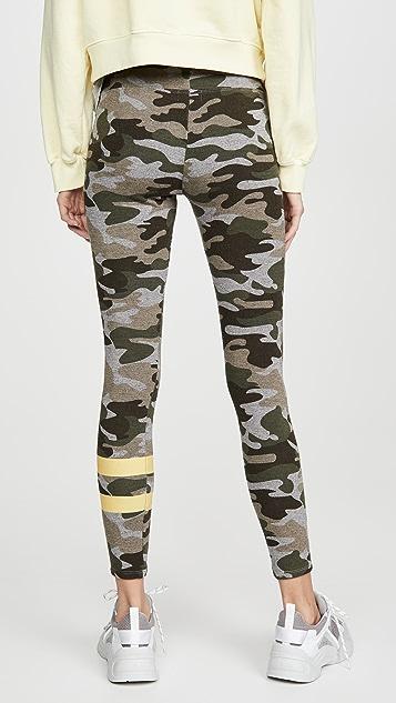 SUNDRY Камуфляжные брюки для йоги