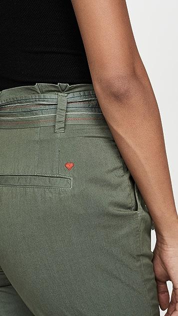 SUNDRY 纸袋休闲裤
