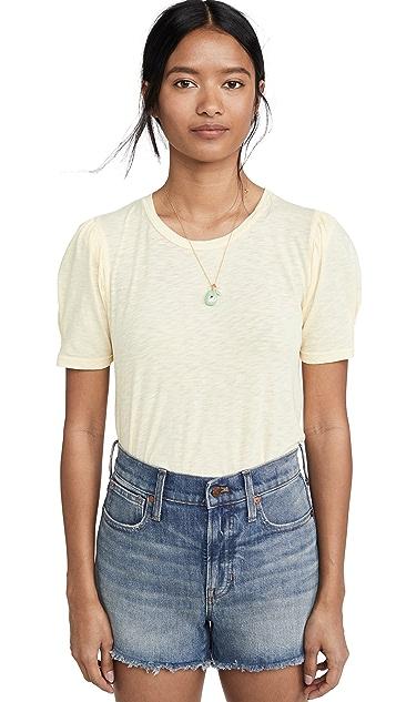 SUNDRY 泡泡袖 T 恤