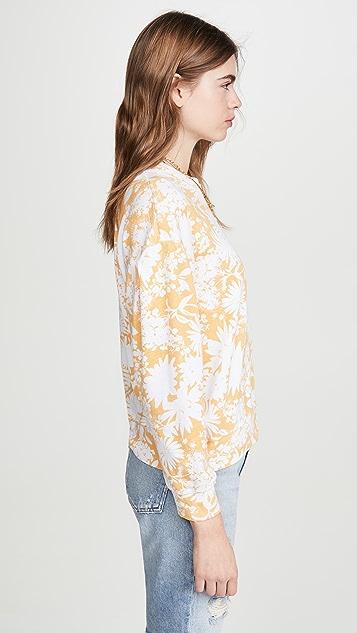 SUNDRY 花朵运动衫