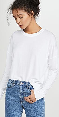 SUNDRY - High Low Crew Sweatshirt