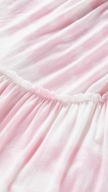 SUNDRY 分层不对称连衣裙