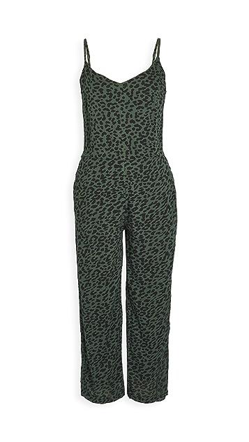 SUNDRY 豹纹连身衣