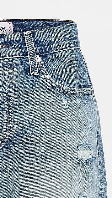 SUNDRY Hearts Slouchy Shorts