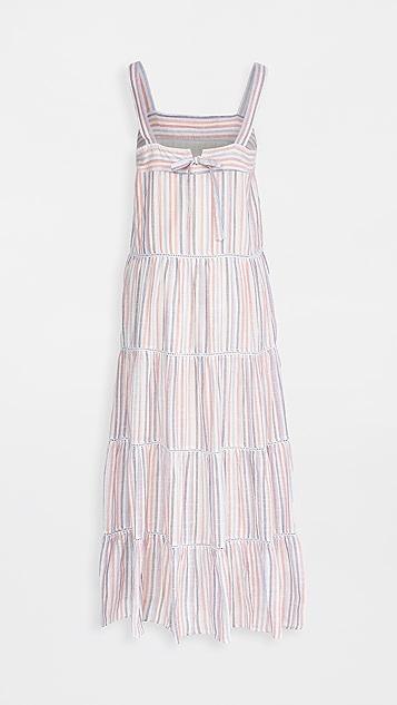 SUNDRY Tiered Maxi Dress
