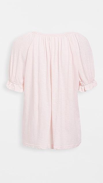 SUNDRY 蓬松衣袖 T 恤