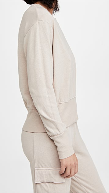 SUNDRY 宽版腰部运动衫