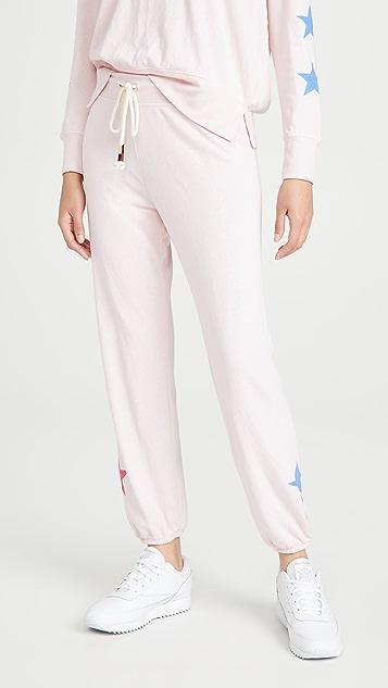 SUNDRY 星星运动裤