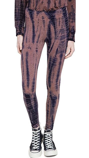 SUNDRY Tie Dye Yoga Pants