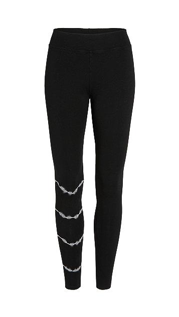 SUNDRY 扎染瑜伽裤