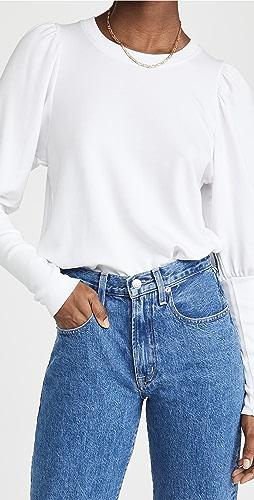 SUNDRY - Puff Shoulder Sweatshirt