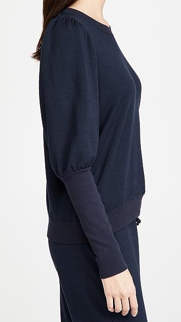 SUNDRY 泡泡肩运动衫