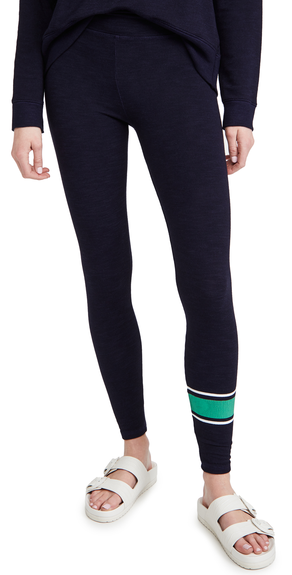 SUNDRY Varsity Stripe Yoga Pants