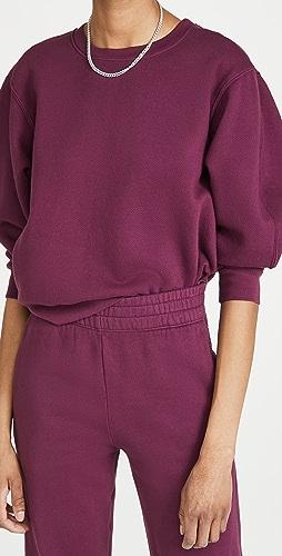 SUNDRY - 七分袖运动衫