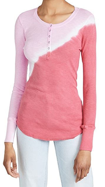 SUNDRY Fitted Henley