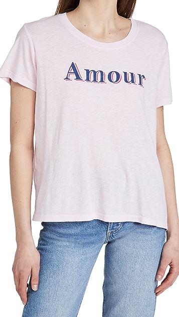 SUNDRY Amour 复古 T 恤