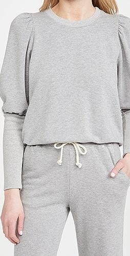 SUNDRY - 泡泡肩运动衫