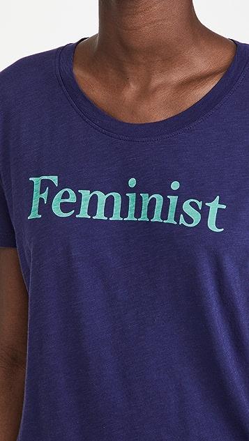 SUNDRY Feminist Vintage T 恤