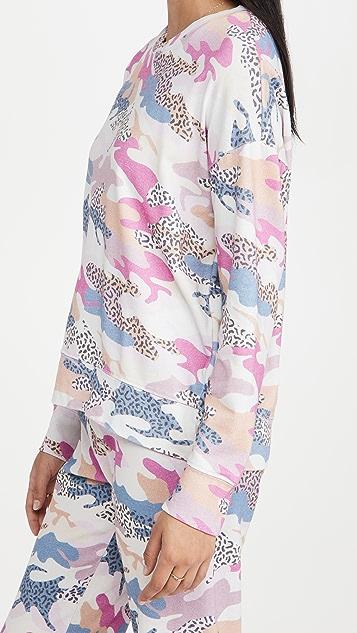 SUNDRY 抽象迷彩运动衫