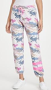SUNDRY 抽象迷彩运动裤