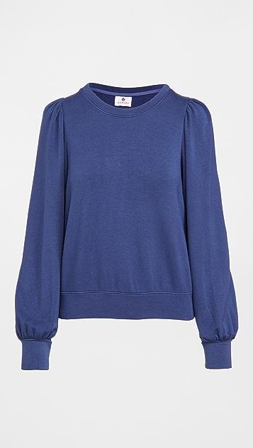 SUNDRY Puffy Sleeve Sweatshirt
