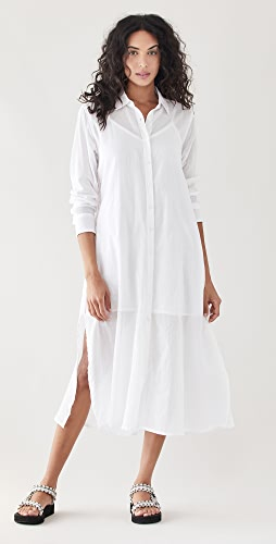 SUNDRY - Voile Shirtdress
