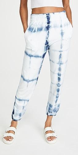 SUNDRY - 抽褶腰部运动裤