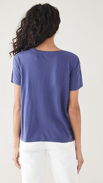 SUNDRY 竹节纱 T 恤
